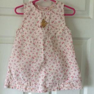 Winnie the Pooh Sleeveless Dress Sz 18 Months